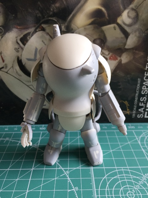 1/20 S.A.F.S. SPACE TYPE ファイアボール