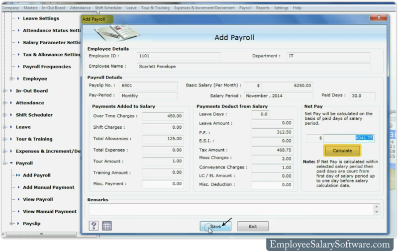 How to use Payroll feature of DRPU Employee Salary Software - DRPU ...