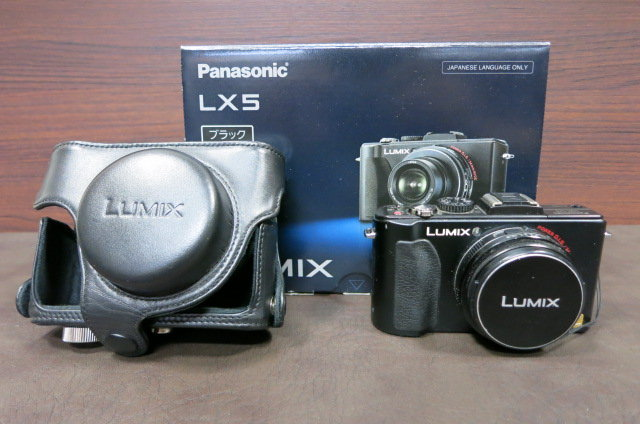 Panasonic LUMIX DMC-LX5 元箱付き
