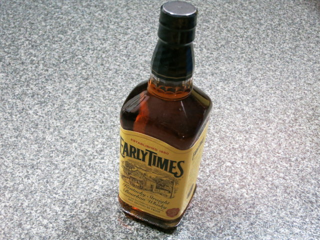 アーリータイムズ Early Times Yellow Bottle