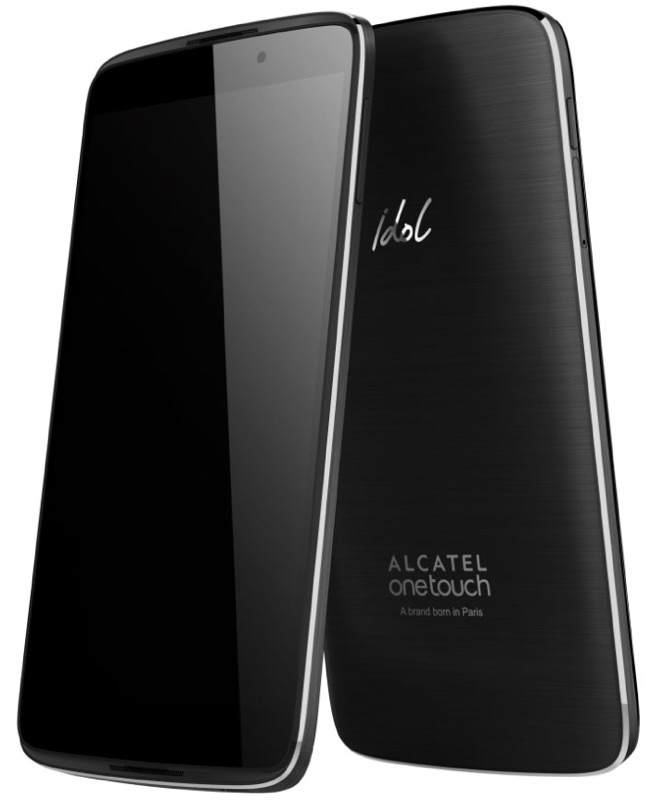 Alcatel OneTouch Idol 3 上下対称