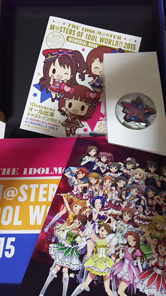 "THE IDOLM@STER M@STERS OF IDOLWORLD!! 2015 Live Blu-ray ""PERFECT BOX"