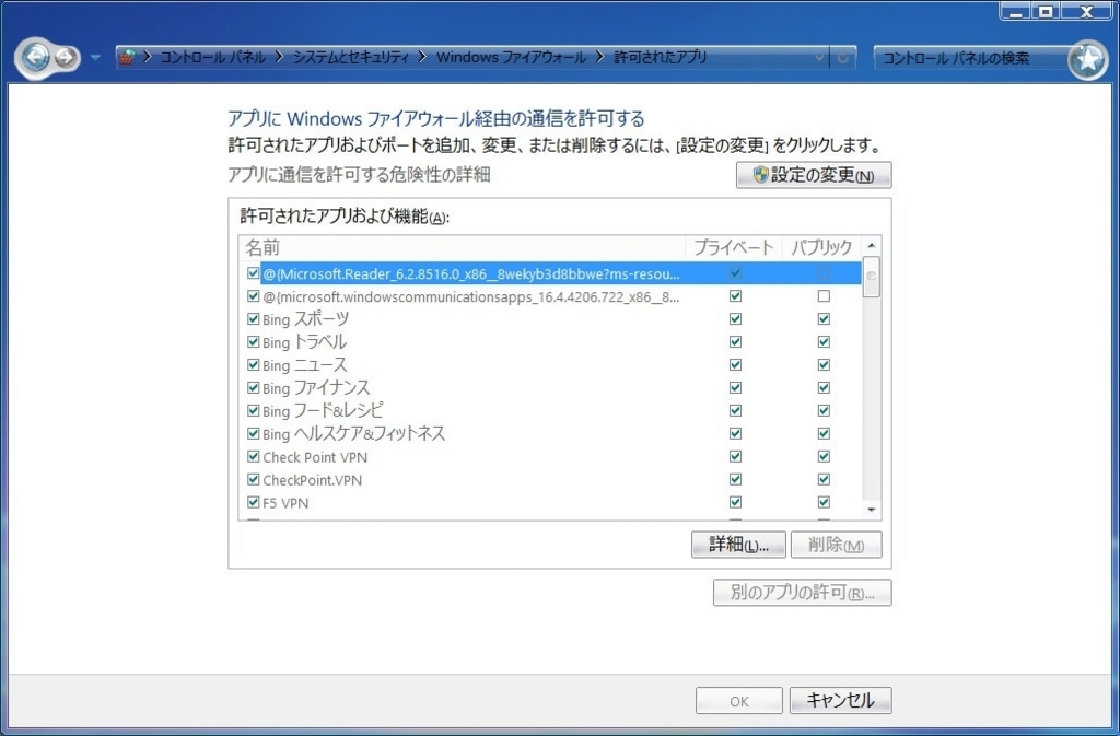 Windows Firewallの有効性