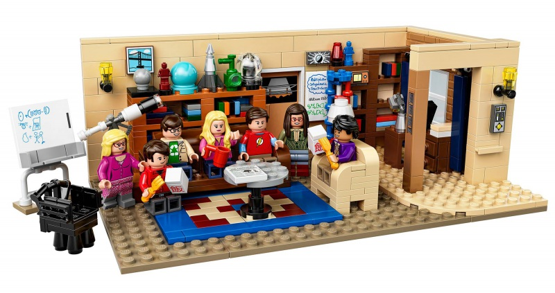 LEGO The Big Bang Theory set!