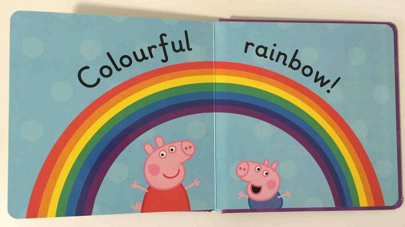 Peppa Pig Colours rainbow