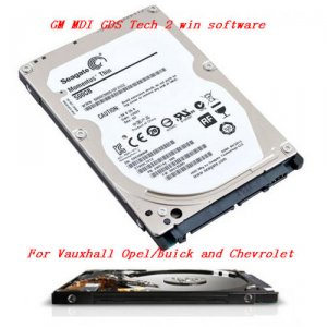 GM MDI gds2 tech 2 win MG MDI Manager Software One HDD for Opel