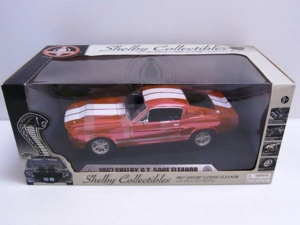 Chelby Collectibles 1/18 1967 シェルビー SHELBY GT500E ELEANOR エレノア 赤系 キャンディ レッド/ピンク