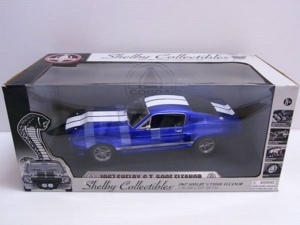 Chelby Collectibles 1/18 1967 シェルビー SHELBY GT500E ELEANOR エレノア 青/白