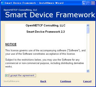 Windows MobileアプリにOpenNETCF Smart Device Frameworkを導入