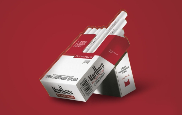 Carton London cigarettes Marlboro duty free