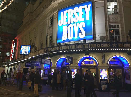 Musical「JERSEY BOYS」@London
