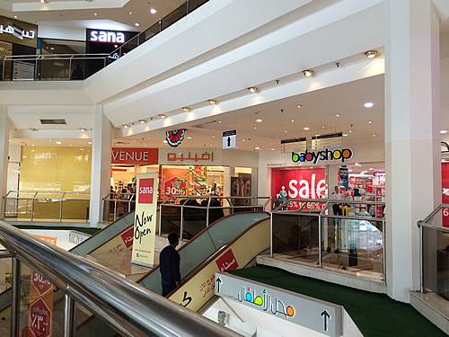 ショッピングモール「Al Zahiyah Shopping Center」