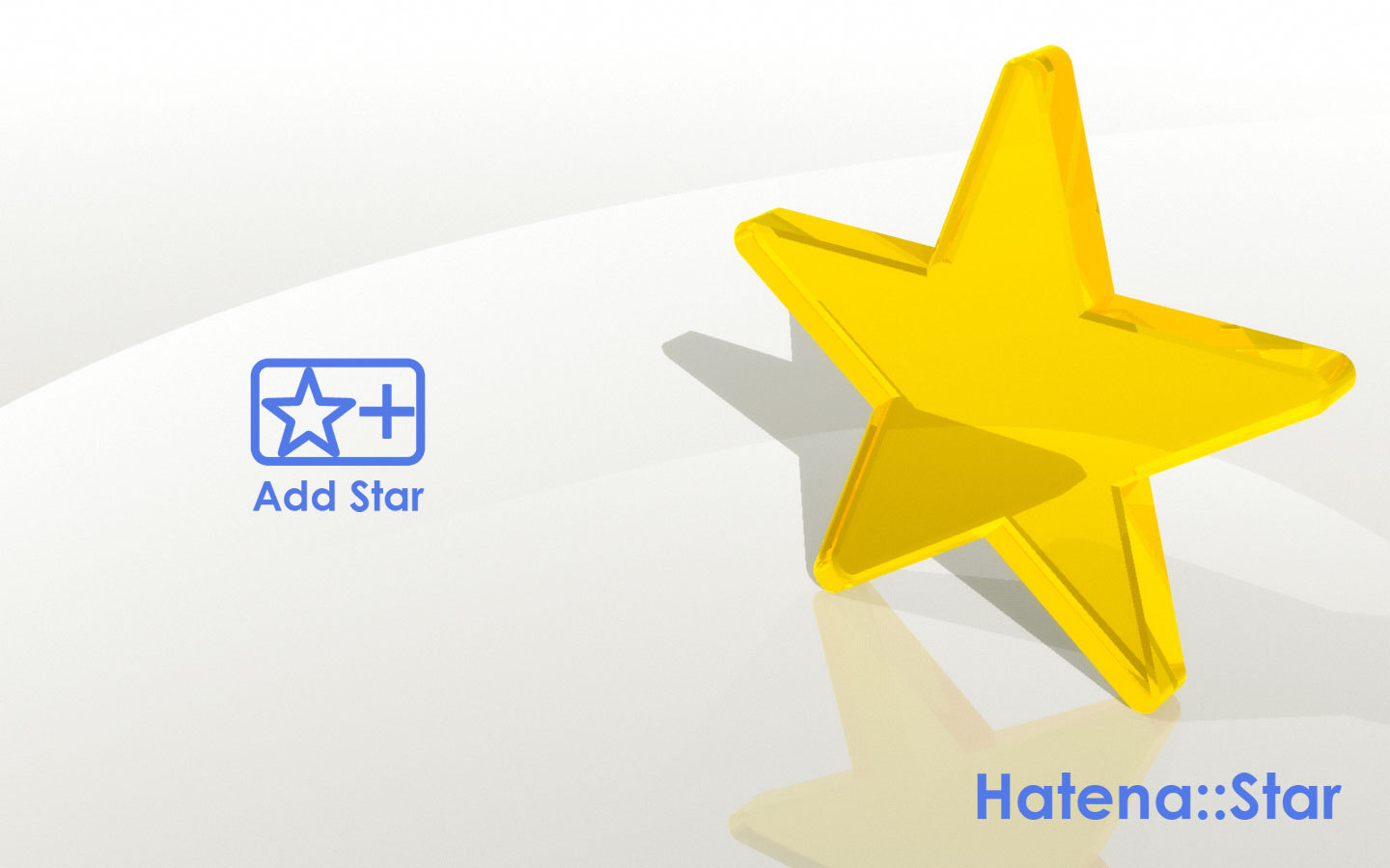 Desktop Picture - Hatena Star WXGA+