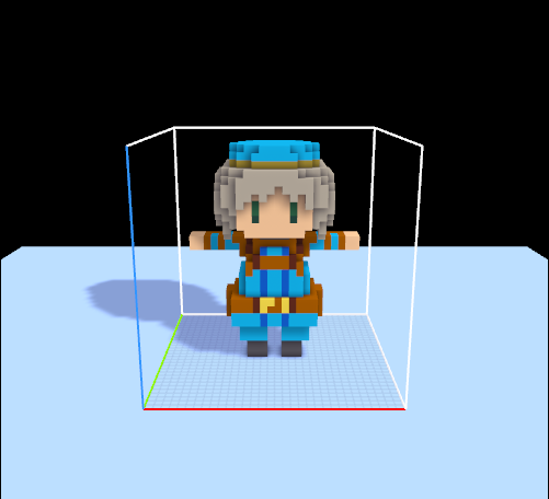 MagicaVoxel→Blender→Unityでボ...