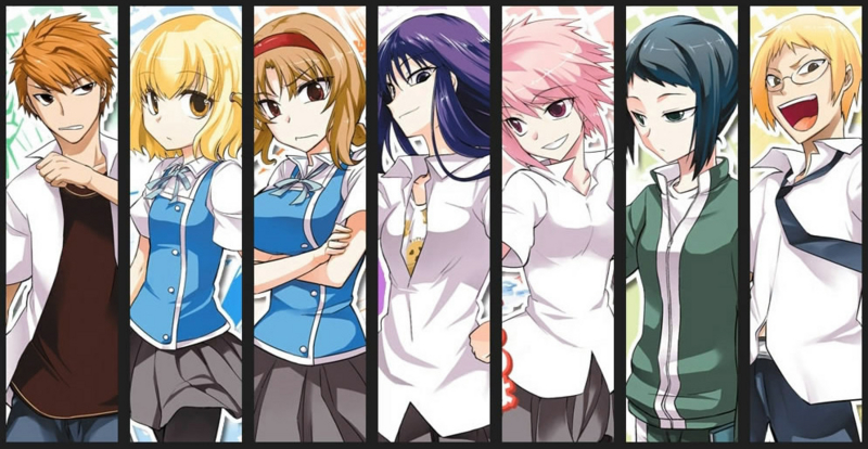 D Frag Anime Characters : The gallery for gt d frag characters