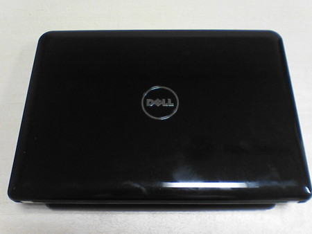 DELL Inspiron Mini 10v blackの天板。