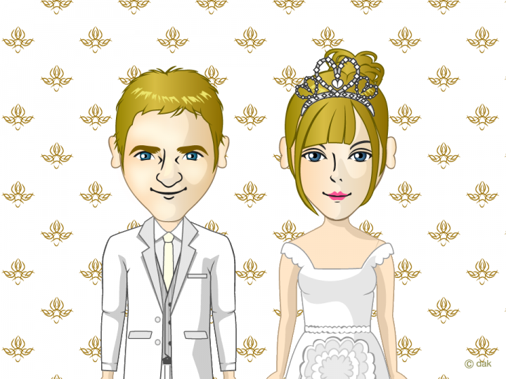 Wedding Couple Maker