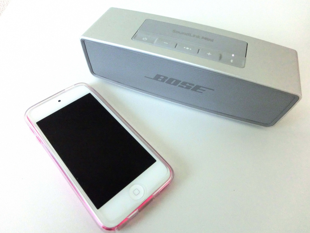 ipod touch 6generation bose soundlink mini2