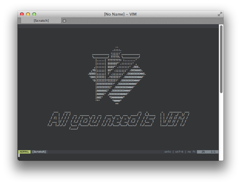 All you need is VIM