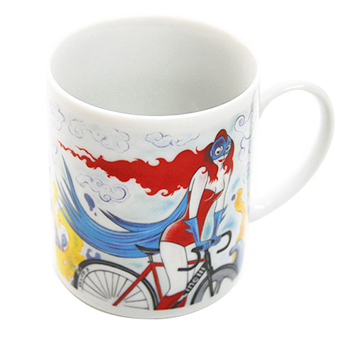 [Cinelli]【Cycle Girl Mug】
