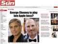 George Clooney to play late Apple boss The Sun