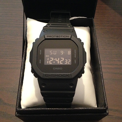 G-SHOCK solid colors 正面