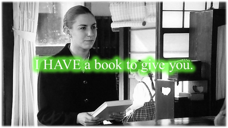 I have a book to give you.