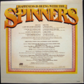 SPINNERS / HAPPINES IS BEING WITH THE SPINNERS ( 1976 JAPANESE PRESS ) ( PROMO ) ( LP )