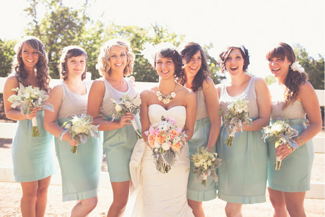 10 ideas about mismatched bridesmaid dresses 2015 - Bridesmaid Dresses Same Color Different Style