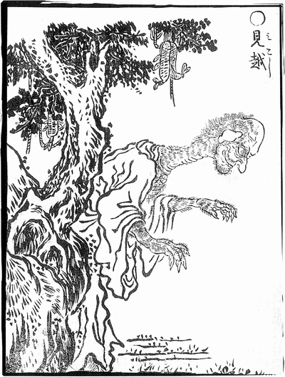 By Toriyama Sekien (鳥山石燕, Japanese, *1712, †1788) (scanned from ISBN 4-0440-5101-1.) [Public domain], via Wikimedia Commons