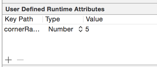 User Defined Runtime Attiributes よりも IBInspectable を使おう