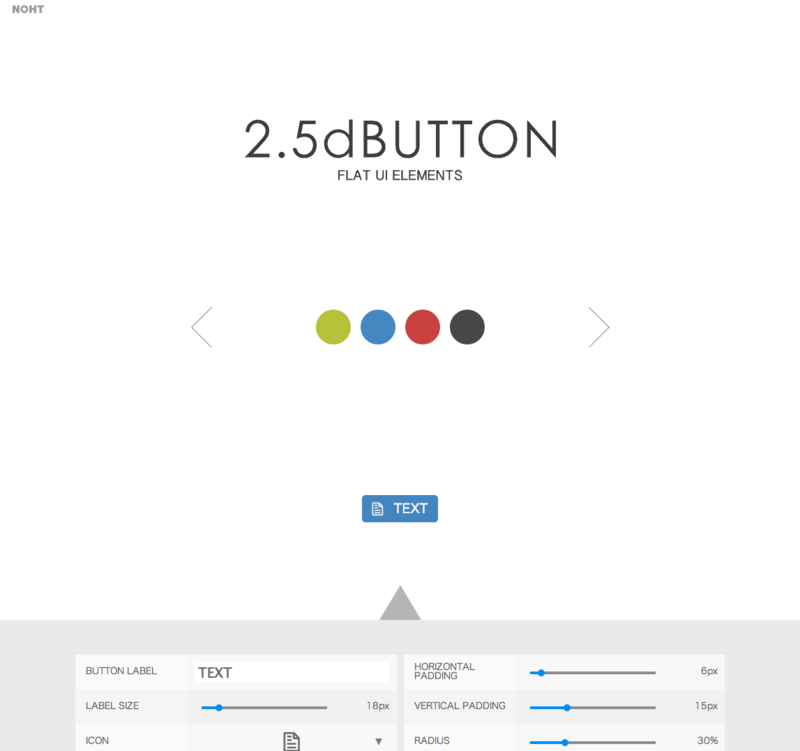 2.5dBUTTON UI ELEMENTS