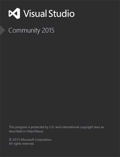 Visual Studio Community 2015 Setup Completed
