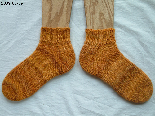 Toe-Up socks