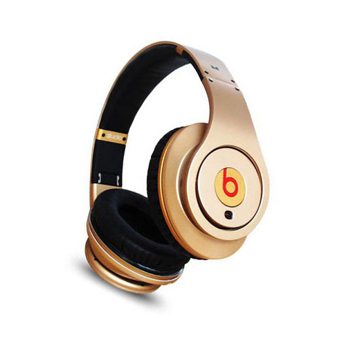 Studio gold beats by dre headphones