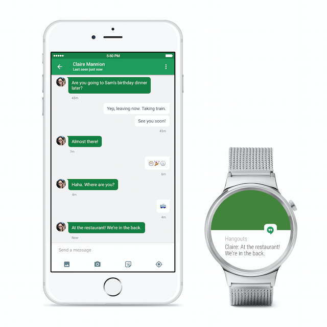 Android Wear for iPhone