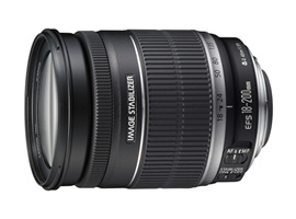 canon EF-S18-200mm
