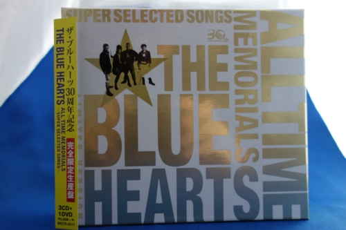 THE BLUE HEARTS 30th ANNIVERSARY「ALL TIME MEMORIALS 〜SUPER SELECTED SONGS〜」【完全