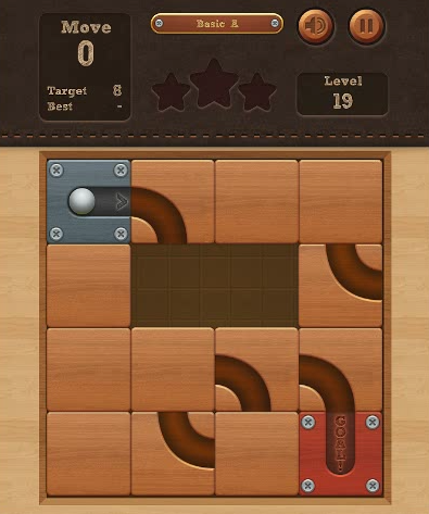 In Roll The Ball Online, you will find all similar factors of them. The game is simple to operate, slide to move the blocks so that the ball can be guided to roll into the goal location. Notice! Riveted blocks can't be moved.If you are finding a game to kill time, It is worth playing. Enjoy the game!