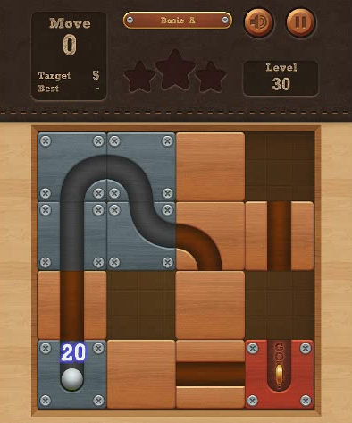 Roll the Ball. Developer: BitMango. Wrong game? Scroll down for similar games.  Roll the Ball. Developer: BitMango.Have you seen these 'roll the ball' style games? They really are great fun. They basically spawned off the idea of the block games where you need to slide around blocks to...
