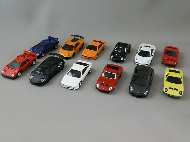 UCC Lamborghini collection