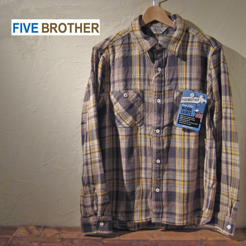Five Brother Heavy Flannel Work Shirts Yahoo