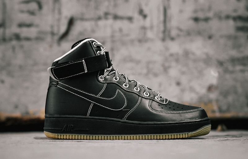 Nike Air Force 1 High 07 Black Gum