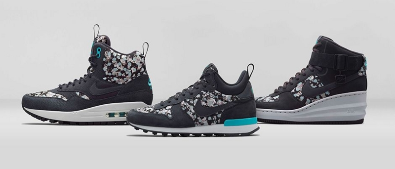 NIKE x LIBERTY HOLIDAY 2014 COLLECTION BELMONT IVY BLACK