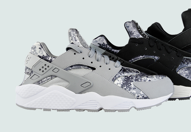 Nike Air Huarache Snow Camo Pack
