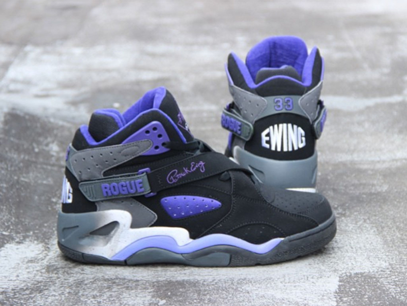 Ewing Athletics Rogue Black/Purple
