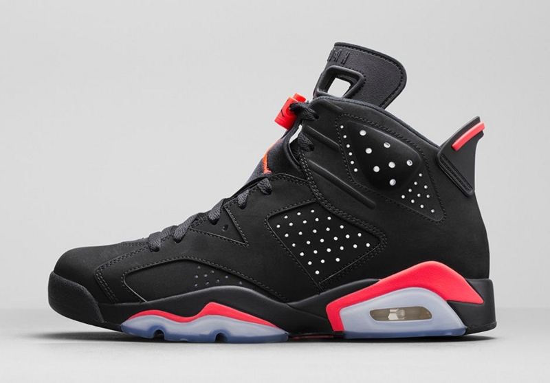 AIR JORDAN 6 RETRO BLACK/INFRARED23