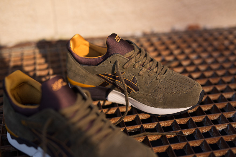 Asics Gel Lyte V Olive/Dark Brown