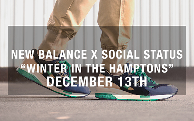 SOCIAL STATUS x NEW BLANCE 1600 WINTER IN THE HAMPTONS