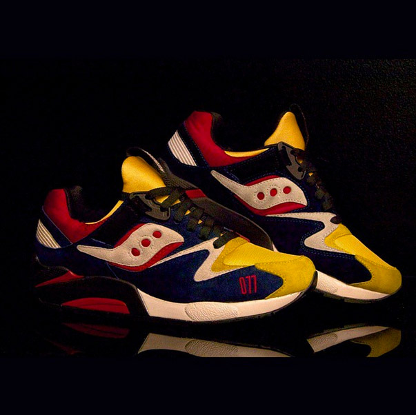 PLAY CLOTHS X SAUCONY GRID 9000 MOTOCROSS